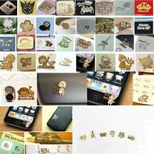 10 Cute Anti Radiation Sticker Gold Plating for Mobile Phone CellPhone MP3 PC TV