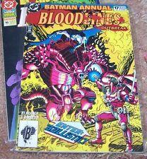 BATMAN COMIC ANNUAL # 17 1993 ENTER BALLISTIC  dc bloodlines OUTBREAK