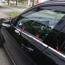 Fensterleisten Edelstahl hochglanz  Mercedes C-Klasse Limousine W204, bis 06/20