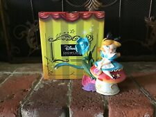 "Enesco World Of Miss Mindy Disney Wonderland ""Alice"" 6.1"" Figurine 6001035 New"