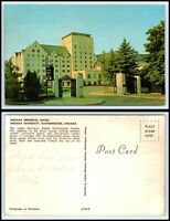 INDIANA Postcard - Bloomington, Indiana University, Indiana Memorial Union Q41