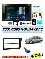 NEW Fits HONDA CIVIC 2001-2005 Stereo Kit, BLUETOOTH TOUCHSCREEN SIRIUS XM