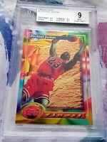 MICHAEL JORDAN 1993 Topps Finest BGS 9 9.5 Chicago Bulls HOF 6x Champion MVP $$$