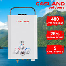 GASLAND Portable Gas Hot Water System Camping Shower Outdoor Instant LPG RV