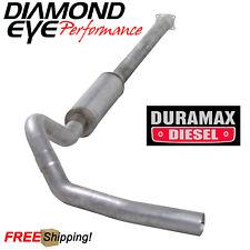 Diamond Eye 4 Inch CatBack Exhaust 2001-2005 Chevy Silverado 6.6L Duramax Diesel