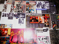 BLUE ÖYSTER CULT  174  TEILE/PARTS CLIPPINGS  LOT   1/09