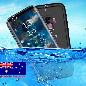 WaterProof Heavy Duty Tough Armor Case Galaxy S8, S9, S8 Plus, S9 Plus, Note 9 8