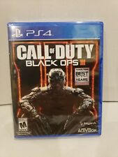 Call of Duty: Black Ops III (Sony PlayStation 4,2015) NEW