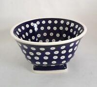 Geschenk Unikat Salat - Müsli Schale Bunzlauer Keramik Handarbeit (eu1109)