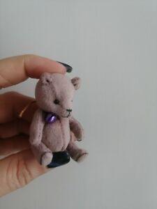 miniature teddy bear baby 2,2 inches minishtof