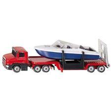 Véhicules miniatures rouge bateau