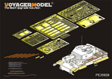 PE for WWII German Tiger I Late Production For TRUMPETER, 35928, VOYAGERMODEL