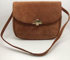 Jay Herbert New York I MAGNIN Suede Leather Purse Handbag (RF918)