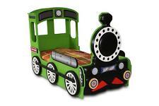 Chambre D'Enfants Lit D'Enfant Locomotive Chemin de Fer Enfant Lits Vert à