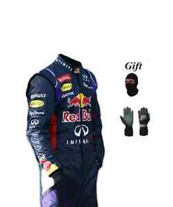 Go kart hobby race suit Red Bull style 2014 (free gifts)