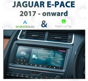 Jaguar E-Pace 2017-Onward InControl Touch Android Auto & CarPlay Integration pk