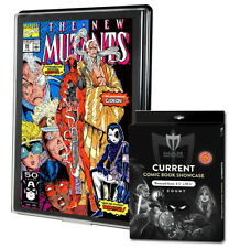 5 Max Pro UV Current / Modern Comic Book Showcases Wall Mountable Display Frames