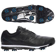NEW Men's Black Under Armour Tempo Tour Golf Shoes Jordan  Spieth $219  Size 7