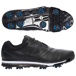 NEW Men's Black Under Armour Tempo Tour Golf Shoes Jordan  Spieth $219  Size 9