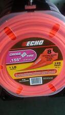 """ECHO 311155066 .155"""" Cross Fire Trimmer Line 1 LB Spool"""