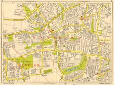 ROMFORD Hornchurch Dagenham Emerson Park Gidea Park. GEOGRAPHERS' A-Z 1964 map