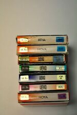 7-Hoya 58mm assorted filters as shown. New
