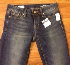 NWT New GAP 1969 Curvy Size 25r Bootcut Ladies Jeans Dark Wash 29x33 Long Tall