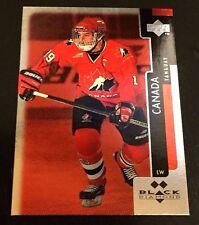 ALEX TANGUAY 1997-98 UD Black Diamond DOUBLE DIAMOND Red ROOKIE Card #105 CANADA