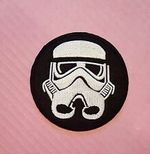 Star Wars / Storm Trooper Embroidered Iron on / Sew on patch / Applique / Badge