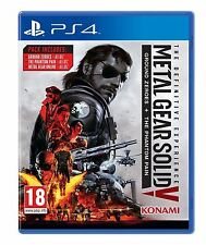 Metal Gear Solid V 5 The Definitive Experience for PlayStation 4 Ps4 UK Preowned