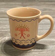 Pendleton Woolen Mills Legendary Coffee Mug Cup Native American Southwestern EUC