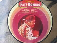 """12"""" - Fats Domino Jambalaya Picture Vinyl ---"""