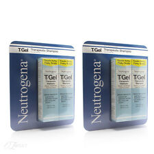 New Neutrogena T/Gel Therapeutic Shampoo 250ml 4 Pack