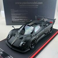 1/18 Peako Model Pagani Zonda LM Matt Black / Carbon Ltd 30 pcs