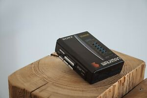 Sony Walkman WM-36 Vintage Cassette Player schwarz Kassetten MC 1987 5 Band EQ