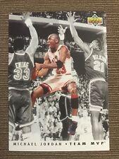 1992-93 Upper Deck team MVP Michael Jordan #TM5