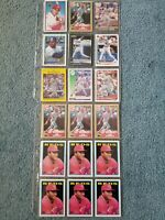 Kal Daniels Baseball Card Mixed Lot Approx 179 Cards