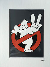 Ghostbusters 2 - Logo - Hand Drawn & Hand Painted Cel