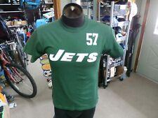 New York Jets Bart Scott #57 Reebok shirt green size Medium 100% cotton #891