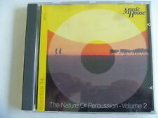 NATURE OF PERCUSSION 2 MUSIC HOUSE  ARCHIVE RARE LIBRARY MUSIC SOUNDS CD