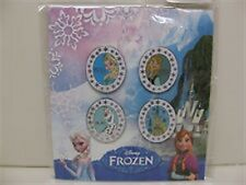 Disney's Frozen Four Pin Booster Pin Set - Factory Sealed