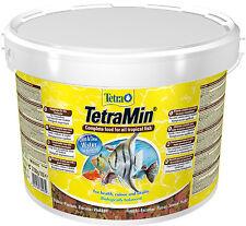 Tetra Min 10 L Tetramin Flockenfutter -MHD 02/2020- Hauptfutter 24 Std.Versand