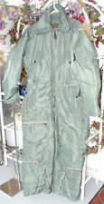 Mens Vintage Airplane Flight Suit Retro Military Skyway