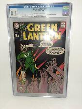 DC Green Lantern #71 Cgc 8.5 1969 Kane Cover FREE SHIPPING