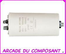 1 CONDO CONDENSATEUR PERMANENT POUR  DEMARRAGE MOTEUR 450V 60MF (ref 42-5130)