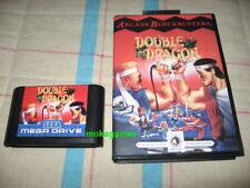 Double Dragon Sega Mega Drive PAL Megadrive US Genesis English language