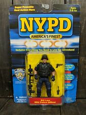 NYPD America's Finest Action Figure Bill Law ESU Police Officer 9/11 Poseable