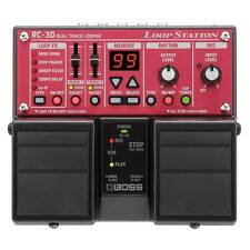 Boss Rc-30 Twin Dual Track Looper Loop Station Guitar Effects Pedal RC30