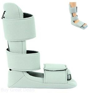 Plantar Fasciitis Night Splint By Vive - Soft Medical Brace Boot For Heel Spurs