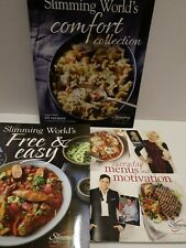3 Slimming world Recipe Books used excellent condition